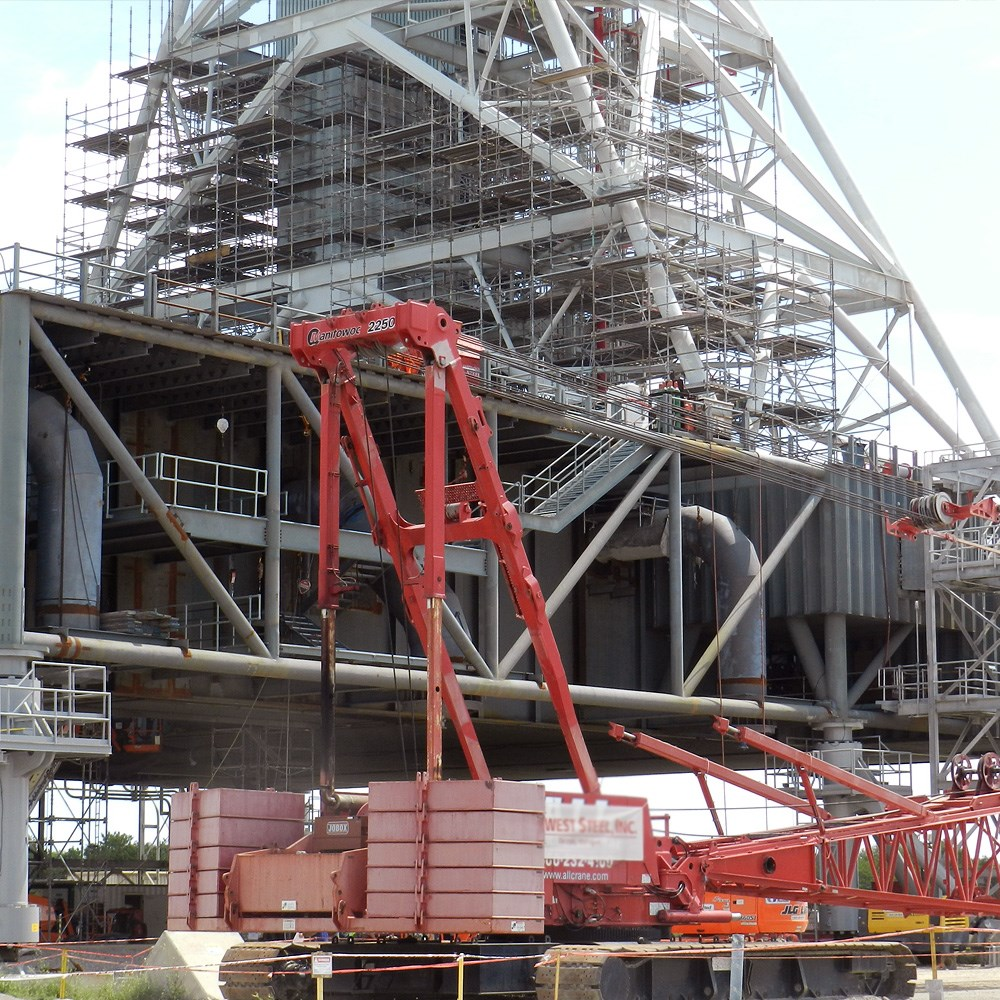 NASA Mobile Launcher Modification