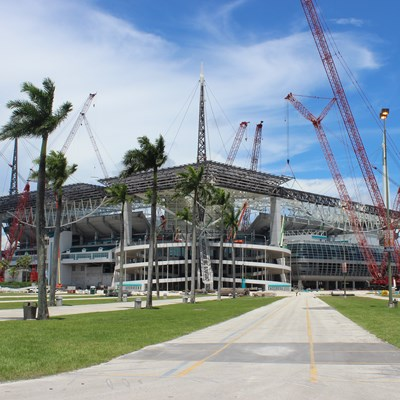 Hard Rock Stadium Shade Canopy